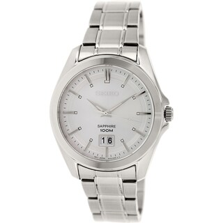 Seiko Men's SUR007 Stainless Steel Quartz Watch