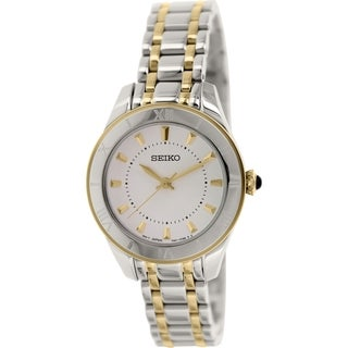 Seiko Women's SRZ432 Stainless Steel Quartz Watch