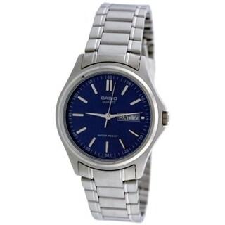Casio Men's Core MTP1239D-2A Blue Stainless Steel Quartz Watch