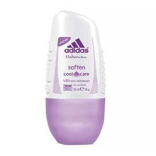 Adidas Soften Cool and Care 48-hour Women's 1.7-ounce Roll-on Antierspirant