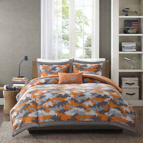 Mi Zone Mikey Orange Comforter Set