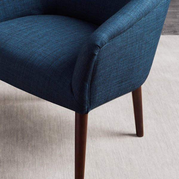5 designs of accent chairs for your living room blue and whi