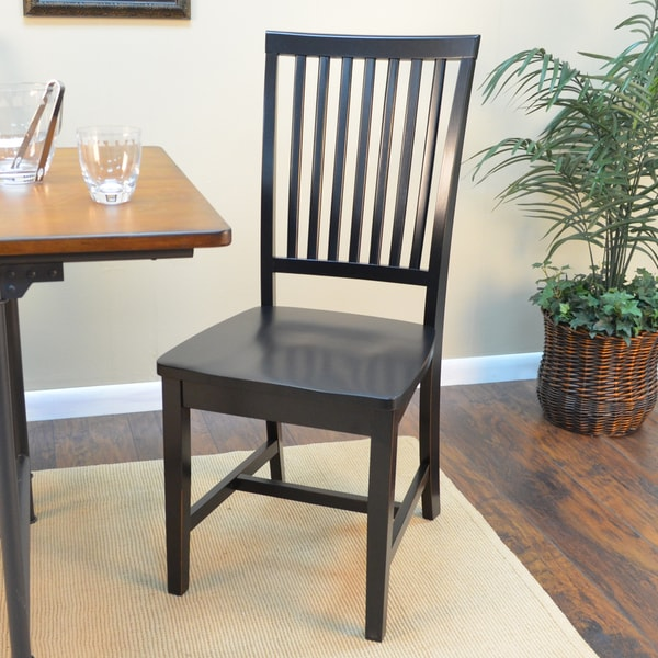 Shop Perry Mission Style Hardwood Dining Chair On Sale