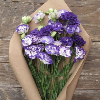 The Bouqs Volcano Collection 'Charmed I'm Sure' Single Lisianthus Bouquet