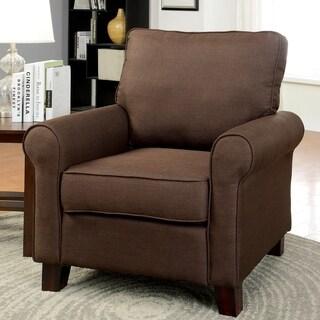 Furniture of America Kerra Modern Flax Club Chair