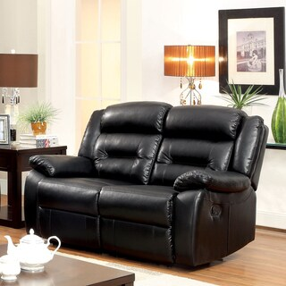 Classic Oversize And Overstuffed 2 Seat Bonded Leather
