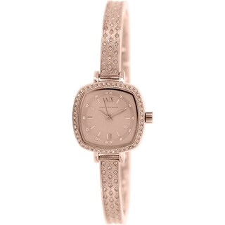 Armani Exchange Women's AX4288 Rose Gold Stainless Steel Quartz Watch
