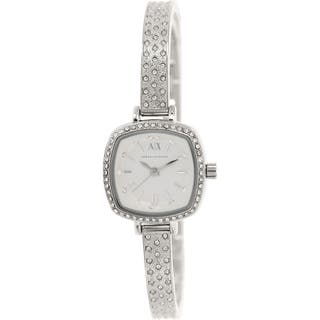 Armani Exchange Women's AX4286 Silvertone Stainless Steel Quartz Watch https://ak1.ostkcdn.com/images/products/9759763/P16931630.jpg?impolicy=medium