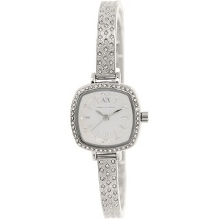 Armani Exchange Women's AX4286 Silvertone Stainless Steel Quartz Watch