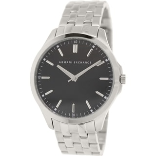 Armani Exchange Men's AX2147 Silvertone Stainless Steel Quartz Watch