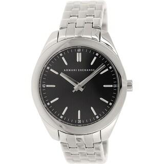 Armani Exchange Women's AX5512 Silvertone Stainless Steel Quartz Watch|https://ak1.ostkcdn.com/images/products/9759813/P16931644.jpg?_ostk_perf_=percv&impolicy=medium