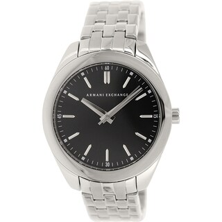 Armani Exchange Women's AX5512 Silvertone Stainless Steel Quartz Watch