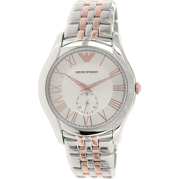 4807f9557a Emporio Armani Men's AR1824 'Valente' Two-Tone Stainless Steel Watch