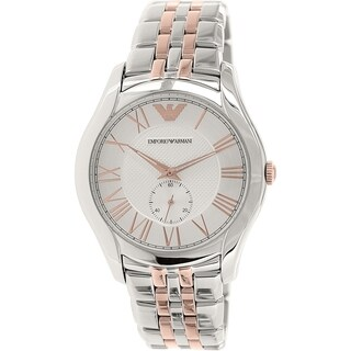 Emporio Armani Men's 'Valente' Two-Tone Stainless Steel Watch
