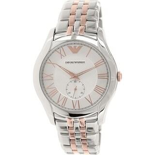 Emporio Armani Men's AR1824 'Valente' Two-Tone Stainless Steel Watch