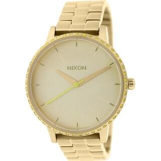 Nixon Women's Kensington A0991900 Gold Stainless-Steel Quartz Watch