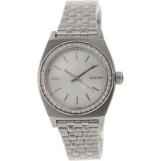 Nixon Women's Time Teller A3991874 Stainless-Steel Watch