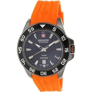 Swiss Military Hanowa Men's 06-4221-30-007 Red Rubber Swiss Quartz Watch