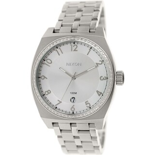 Nixon Women's Monopoly A3251874 Silver Stainless Steel Quartz Watch