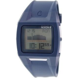 Nixon Men's Lodown A289307 Blue Silicone Watch