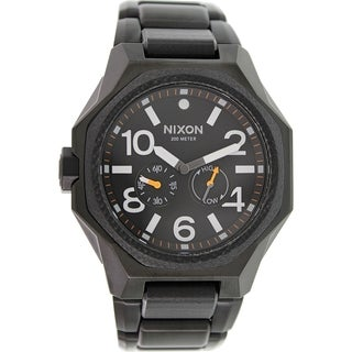 Nixon Men's Tangent A397001 Black Stainless Steel Swiss Quartz Watch