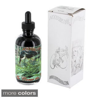 Noodler's Ink Fountain Pen Bottled Ink with Eyedropper, 4.5 ounce, 11 Color Options