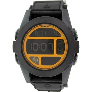Nixon Men's Baja A4891323 Black Nylon Quartz Watch