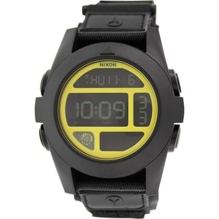 Nixon Men's Baja A489293 Black Nylon Quartz Watch