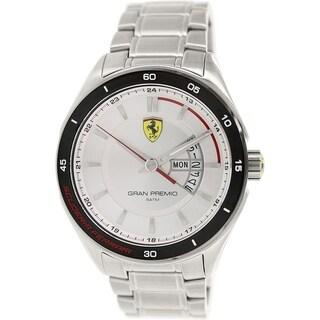 Ferrari Men's 0830187 Stainless Steel Quartz Watch