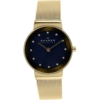Skagen Women's Freja SKW2182 Goldtone Stainless Steel Quartz Watch
