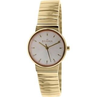 Skagen Women's Ancher SKW2200 Rose Goldtone Stainless Steel Quartz Watch