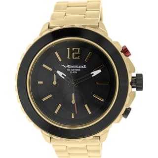 Vestal Men's Yacht YATCM03 Antique Gold Stainless Steel Quartz Watch|https://ak1.ostkcdn.com/images/products/9760181/P16932022.jpg?impolicy=medium