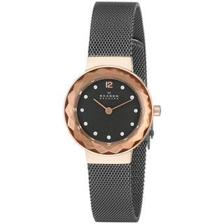 Skagen Women's Leonora 456SRM Grey Stainless Steel Quartz Watch