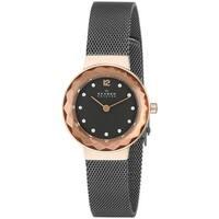 Skagen Women's Leonora  Grey Stainless Steel Quartz Watch