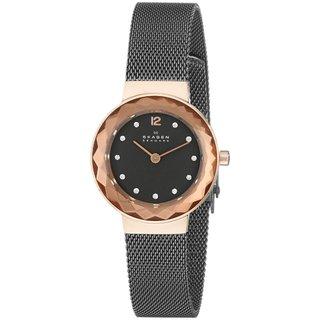 Skagen Women's Leonora 456SRM Grey Stainless Steel Quartz Watch
