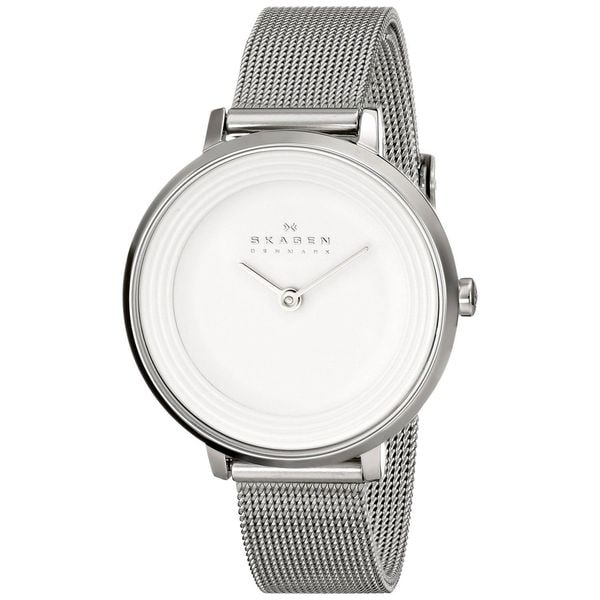 Skagen Women's Ditte SKW2211 Silvertone Stainless Steel Quartz Watch