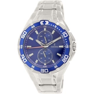 Festina Men's F16663/3 Stainless Steel Analog Quartz Watch