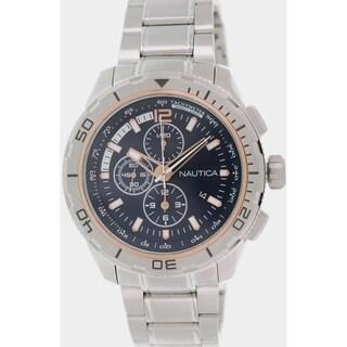 Nautica Men's Nst 101 NAD24500G Stainless Steel Quartz Watch