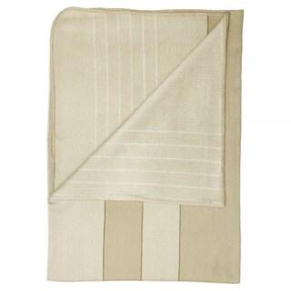 Calla Cream Alpaca Blanket (Ecuador)