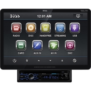 BOSS AUDIO BVS13.3B Single-DIN 13.3 inch Detachable Touchscreen DVD P
