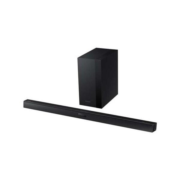 Samsung HW-HM45C 3D Sound 2 1 Channel Soundbar with Wireless Bluetooth  Subwoofer (Refurbished)