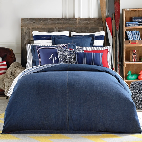 Shop Tommy Hilfiger Fashion Denim Comforter Free