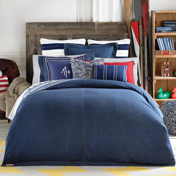Shop Tommy Hilfiger Denim Duvet Cover Free Shipping