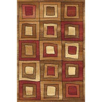 Modern Square Bowery Area Rug - 5' x 8'