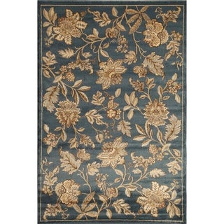 Power Loomed Vintage Floral Bowery 1156 Rug (5' x 8')