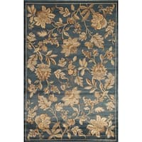 Blossoms Floral Area Rug - 5'3 x 7'10
