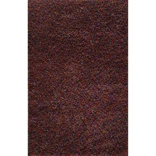 Cosmo Red Shag Rug (5' x 8')