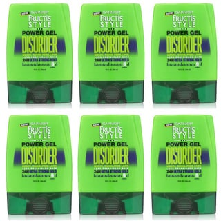 Garnier Fructis Style Disorder 9-ounce Power Gel (Pack of 6)