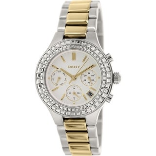 DKNY Women's Chambers NY2260 Silvertone Stainless Steel Quartz Watch