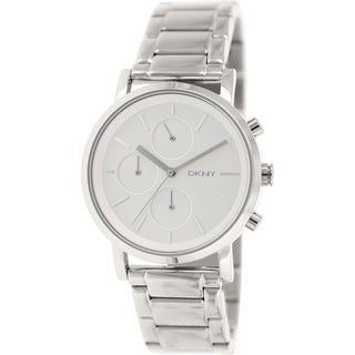 DKNY Women's NY2273 Silvertone Stainless Steel Quartz Watch